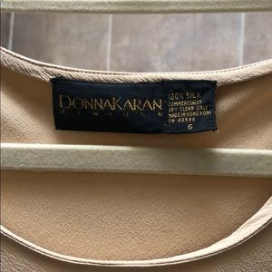 Donna Karen silk sleeveless blouse